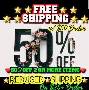 Other - 💖💥50% OFF 2+ 💎FREE💎or💥REDUCED SHIPPING💥💖